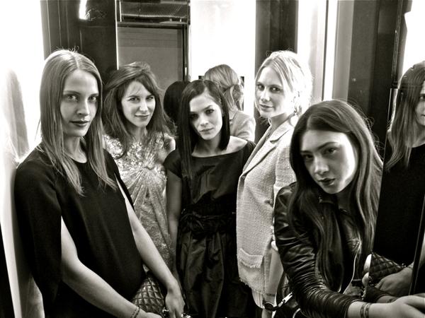Las embajadoras de Chanel