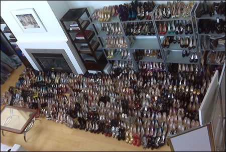 Las mujeres no usamos la mitad de los zapatos que compramos