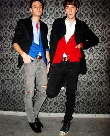 Agustin Yarde y Sebastian Campoy