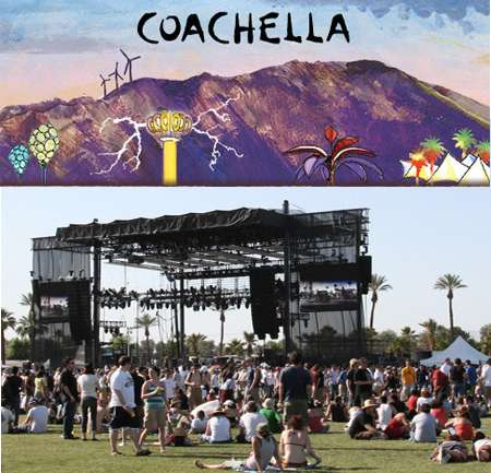 Looks de Coachella