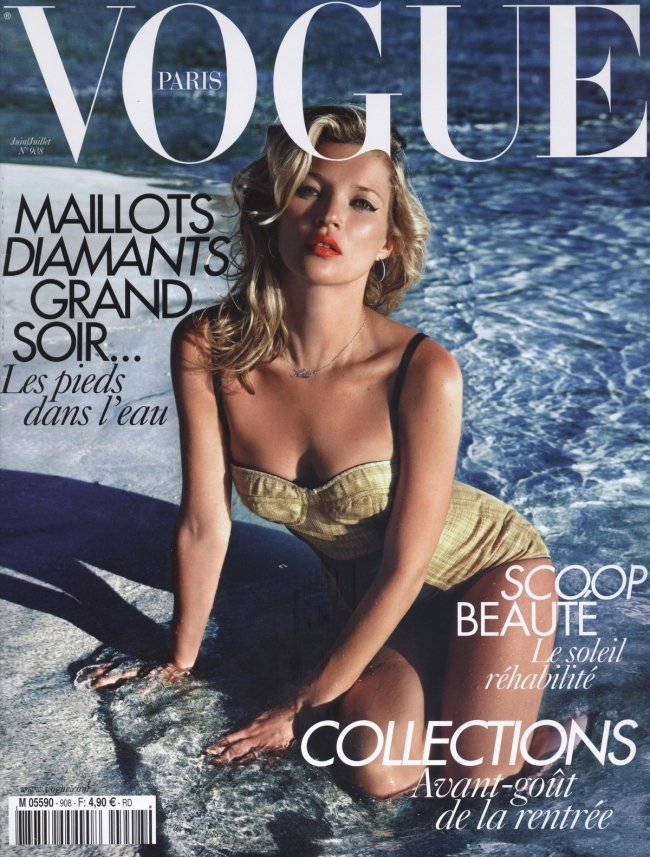 Vogue Paris + Kate Moss