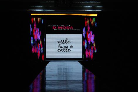 Desfile VisteLaCalle en Santiago D-Moda: Natalia Ceballos y The Arlekin