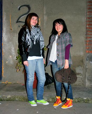 Gabriela y Siu Fang