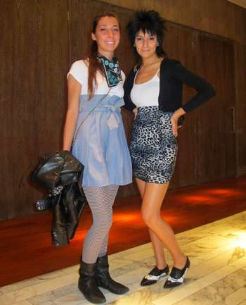 Camila Andreani y Fernanda Mora