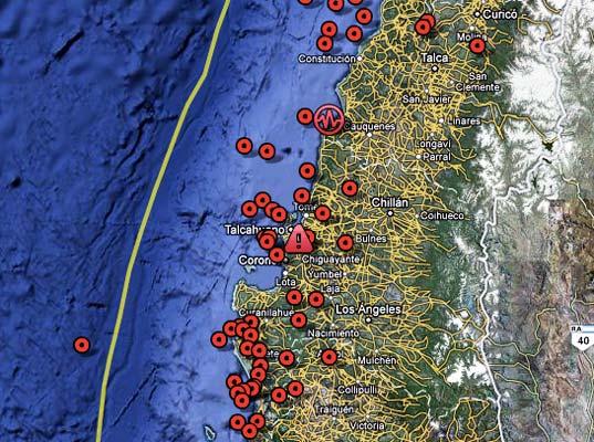 Terremoto en tiempos de Internet