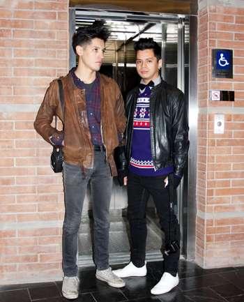 Ignacio y Claudio