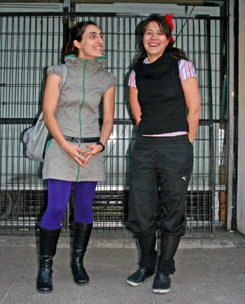 Danae Smith y Jacinta Langlois