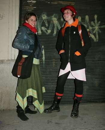 Emilie y Victoria