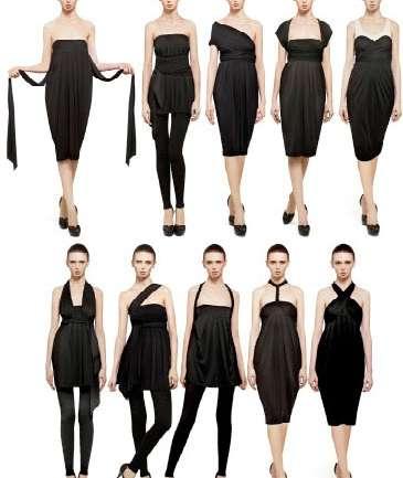 Donna Karan y The Infinity Dress