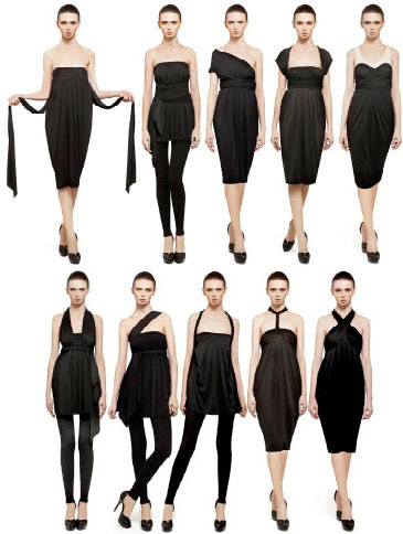 Donna Karan y The Infinity Dress