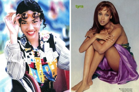 Kimora y Tyra, las modelos