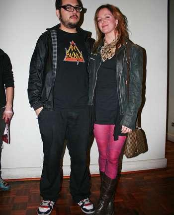 Nicolás Lopéz y Javiera Edwards