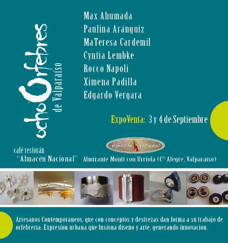 4ta Versión Expoventa Ocho Orfebres de Valparaíso