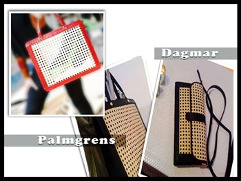 """Zuecos y carteras Palmgrens. Accesorios made in Sweden"""