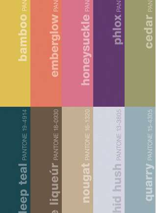 PANTONE Fashion Color Report Fall 2011