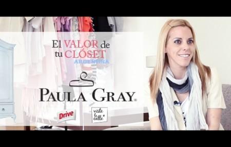 El valor de tu clóset Argentina: Paula Gray