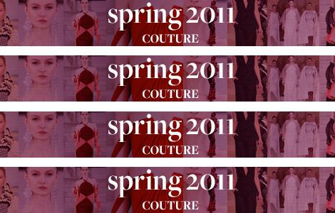Paris Haute Couture: Armani Privé y Christian Dior