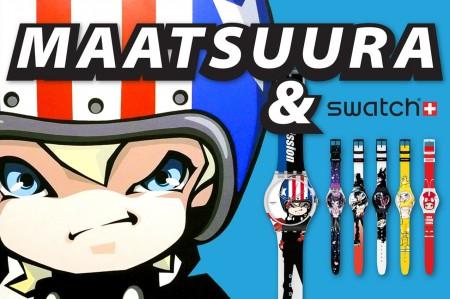 Hiroyuki Matsuura para Swatch
