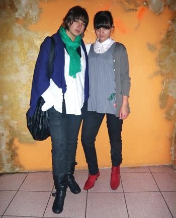 Valentina Rojic y Camila Galarce