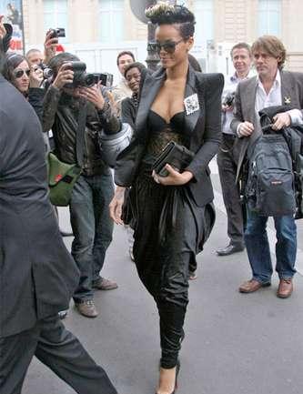 Rihanna en el Fashion Week París