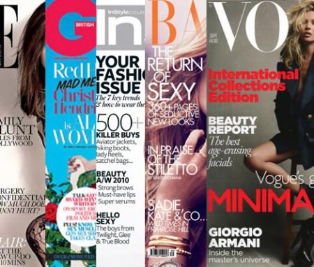 Las ediciones de Septiembre de las publicaciones de moda