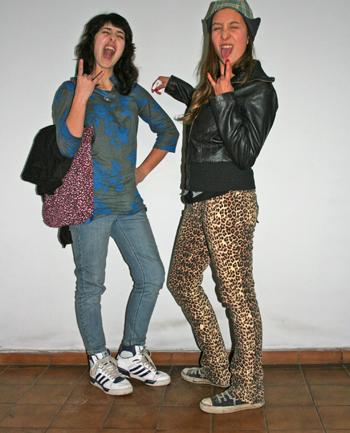 Camila Peralta y Vanessa Merello