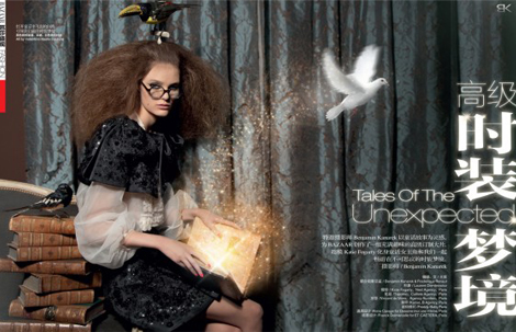 """Tales of the Unexpected"" para Harper's Bazaar China Febrero 2011"