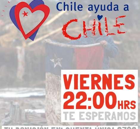 Teletón: Chile ayuda a Chile