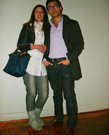 Fran Yare y Andres Caniulef