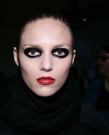 Make up: Ojos de Panda