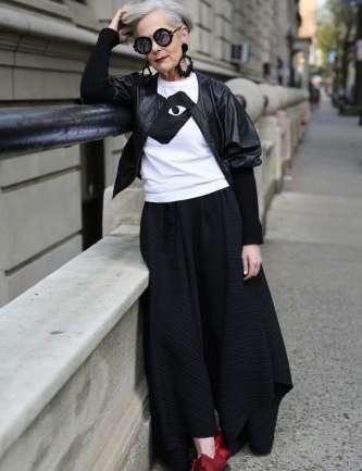 Accidental Icon, la fashion blogger de 63 años que sorprende al mundo