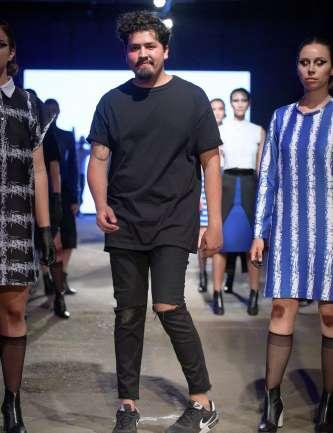 """Paulo Rodríguez y sucolección """"Bordeline"""" en VisteLaCalle Catwalk S/S 2017"""