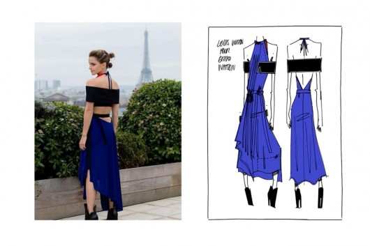 Emma Watson abrió una cuenta de Instagram promocionando la moda sustentable