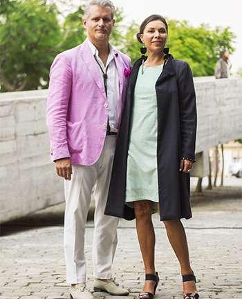 Francesco Galli y Marisol Ortiz