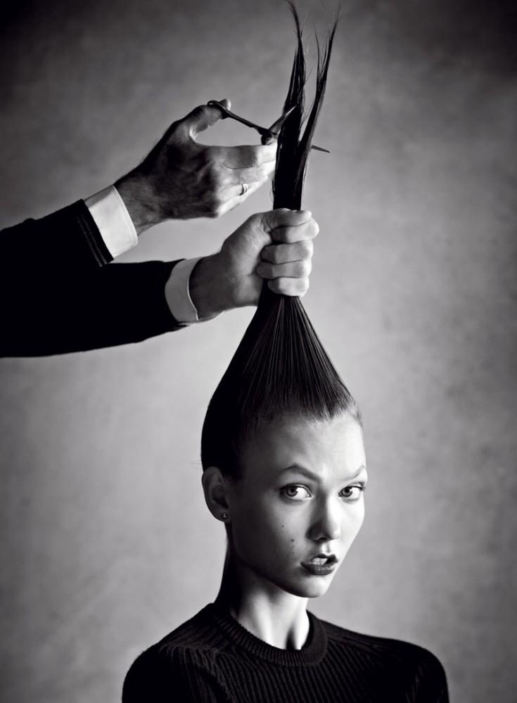 El trabajo de Garren, uno de los últimos estilistas estrella de la moda
