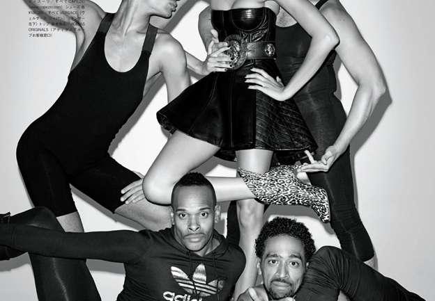 Cómo hacer voguing con la casa Xtravaganza en Vogue Japan, 2013