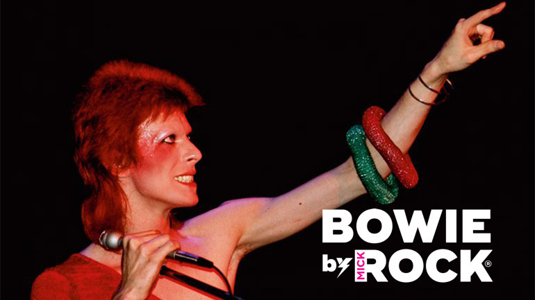 """""""Bowie by Mick Rock"""" llega a Argentina"""