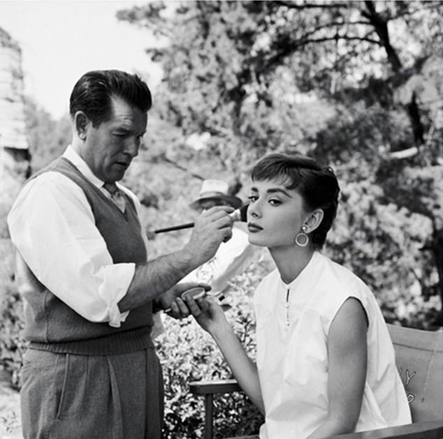 Wally Westmore, el maquillador de Audrey Hepburn