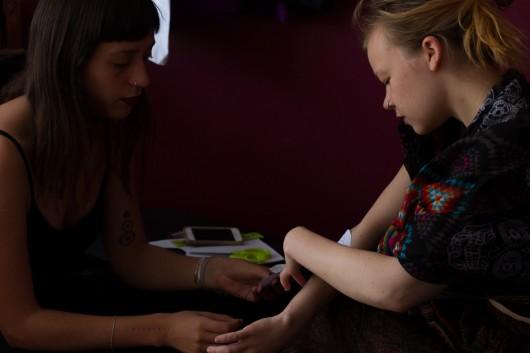 Natalia Godoy, una de las tatuadoras chilenas del momento