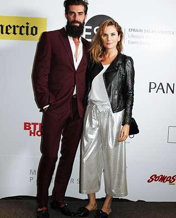 Sergio Bardon y Jessica Vazquez