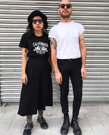Victorial Shannon y Enzo Santi
