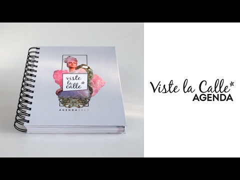 Concurso: Gana una de las diez Agendas VisteLaCalle 2017 que tenemos para ti
