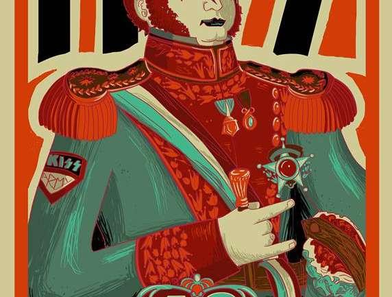 Entrevista a Jofre Conjota, el artista chileno que pinta el rock and roll