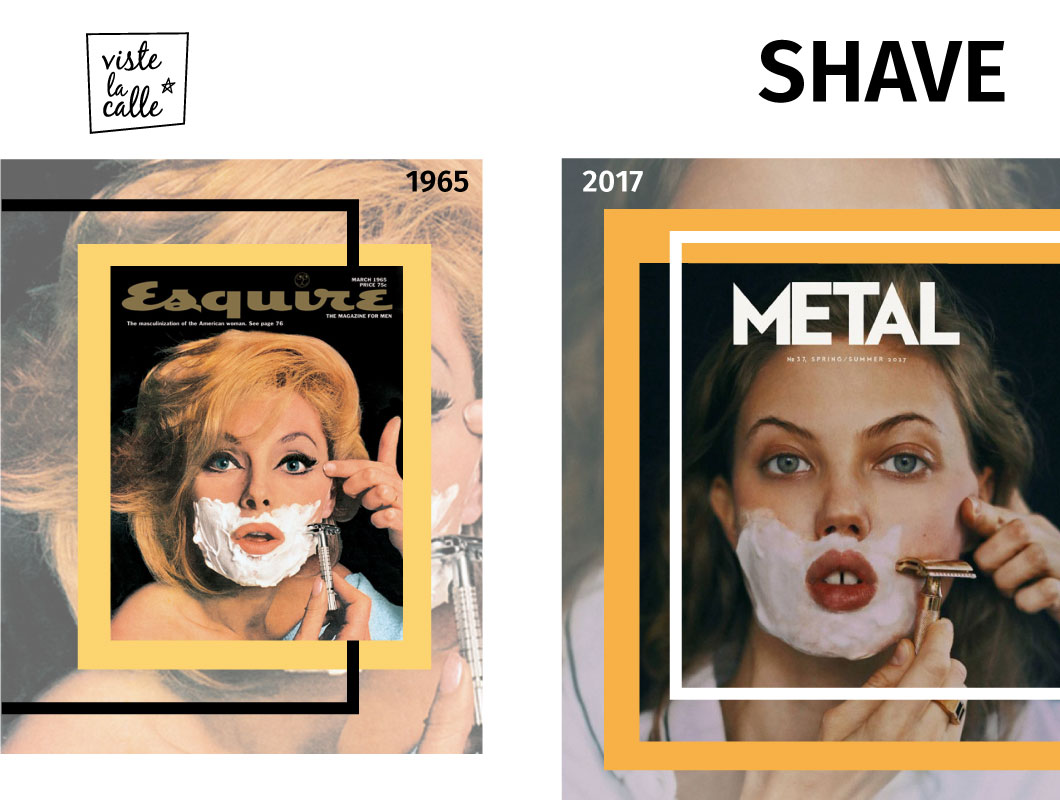 It's not the same but It's the same: Shave