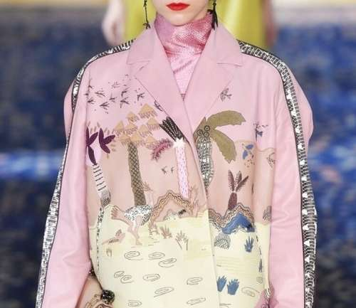 Zandra Rhodes + Valentino, alta costura new romantic
