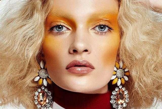 Sombras amarillas, la nueva tendencia en maquillaje