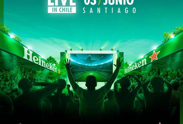 Disfruta con Heineken la final entre Real Madrid y la Juventus con Champions Live in Chile