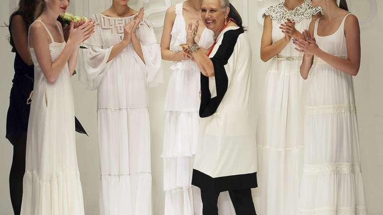 La diseñadora Laura Biagiotti muere en Roma a los 73 años