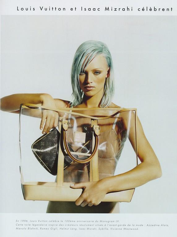 Flashback: La colección Centenaire de Louis Vuitton por varios diseñadores, 1996