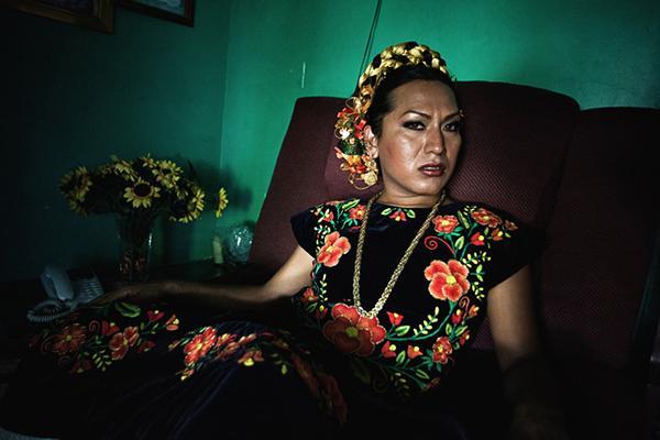 Las muxes, el colorido tercer sexo mexicano